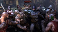 When outnumbered in Arkham City, multitasking is a must.