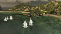 Battlestations: Pacific features a completely overhauled graphics engine.