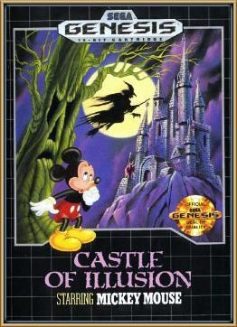 Original Castle of Illusions cover