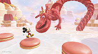 The red liquorice Treat Dragon is hungry for macaroons and mice.
