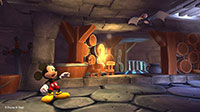 Mickey comes face-to-fang with a vampire bat!