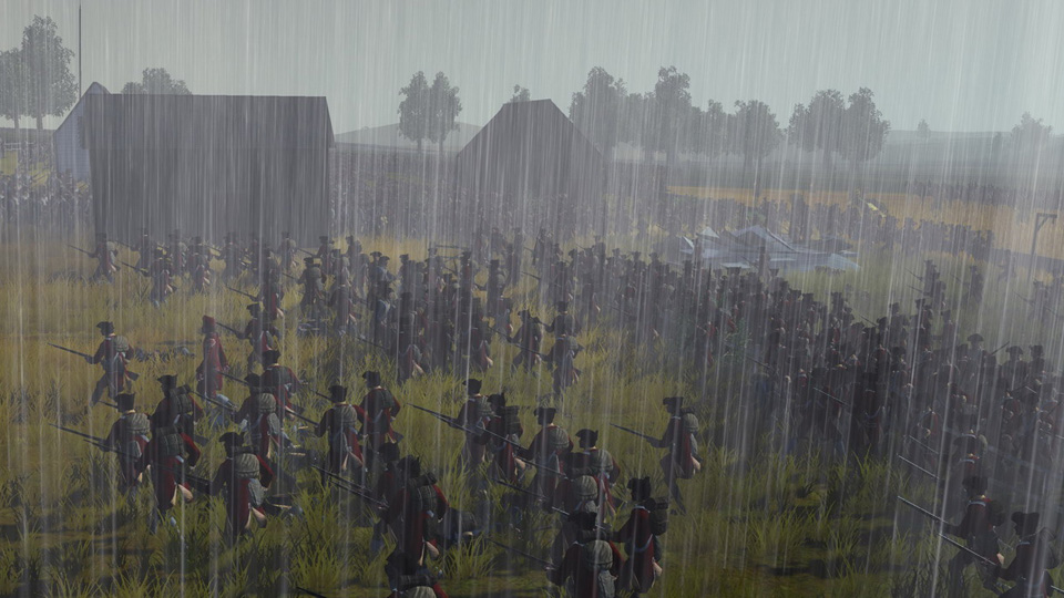 In Empire: Total War campaigns are fought in all conditions.