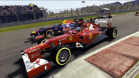 Alonso and Vettel battle it out for the coveted title of FIA FORMULA ONE DRIVERS' WORLD CHAMPION.