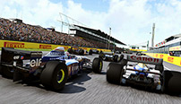 After the lights go out at the Hungaroring, two classic Williams battle on the starting grid.