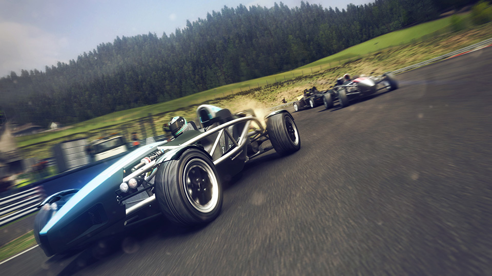 An Ariel Atom exemplifies the visceral thrill of open-wheel events.