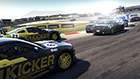 In amongst it – Touring Cars battle it out at Hockenheim.