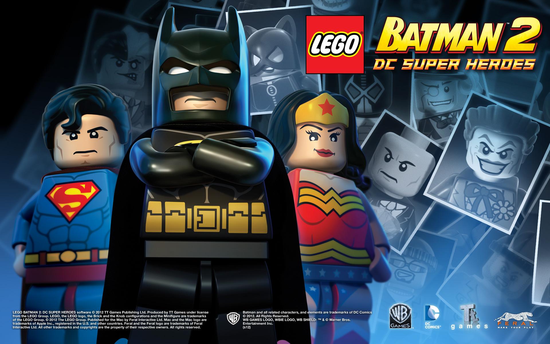 LEGO Batman 2: DC Super Heroes for Mac - Media | Feral