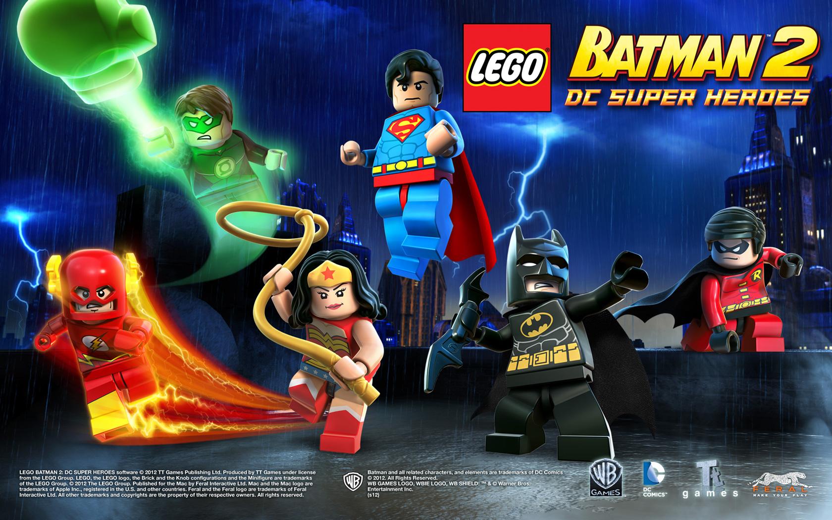 Lego batman 2 dc super heroes for mac media feral interactive