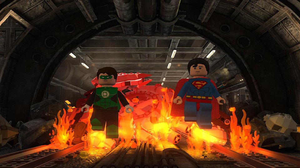 The annual Justice League barbecue easily gets out of hand.