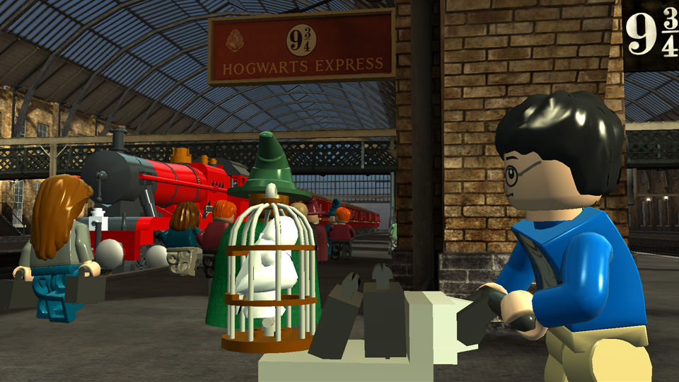 All aboard the Hogwarts Express! Can owls go into an overhead locker?