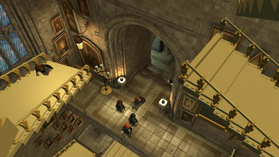 The staircases in Hogwarts move with little warning… watch your step!