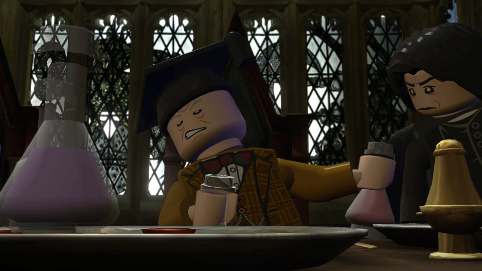 Professor Slughorn regrets asking Severus Snape to mix him a potion.