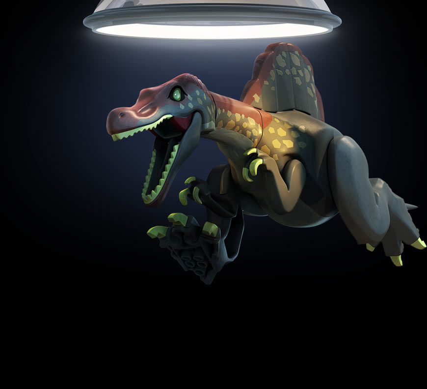 Lego jurassic world for mac characters feral interactive - Lego dinosaurs spinosaurus ...