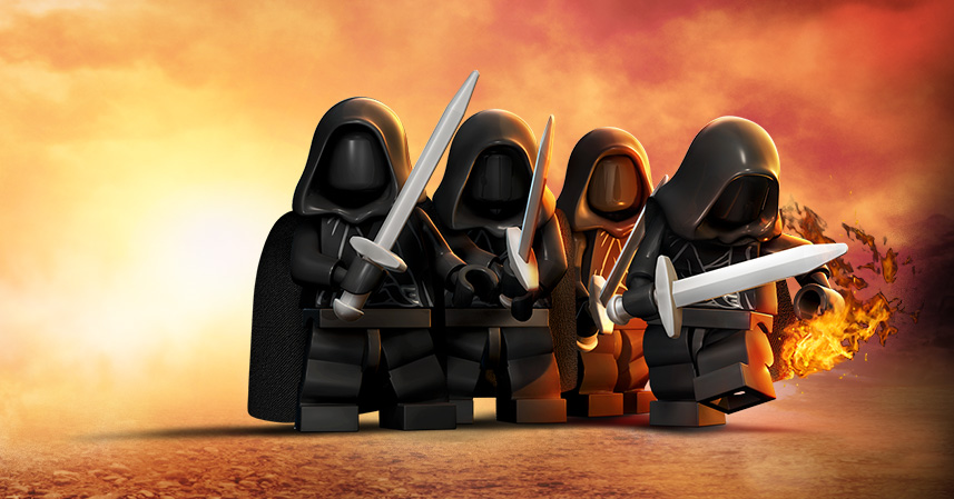 Lego 174 The Lord Of The Rings For Mac Characters Feral Interactive