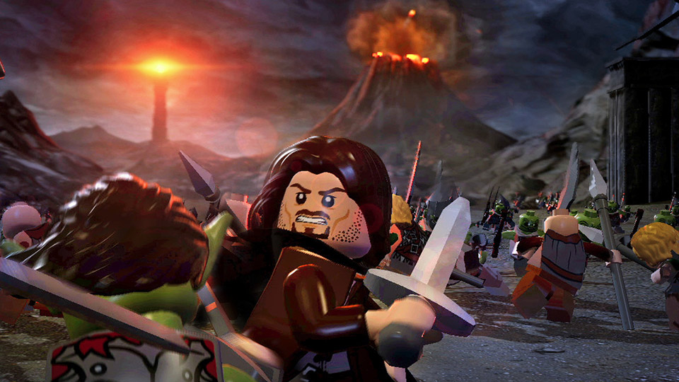 Aragorn leads the Army of the West against the forces of Sauron.