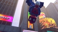 Spider-Man drops by to showcase his amazing web-slinging skills.
