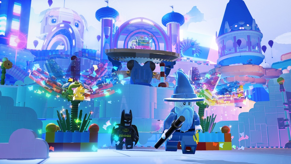 Batman and Gandalf explore Cloud Cuckoo land, where there are no rules, no frowny faces, and no negativity of any kind!