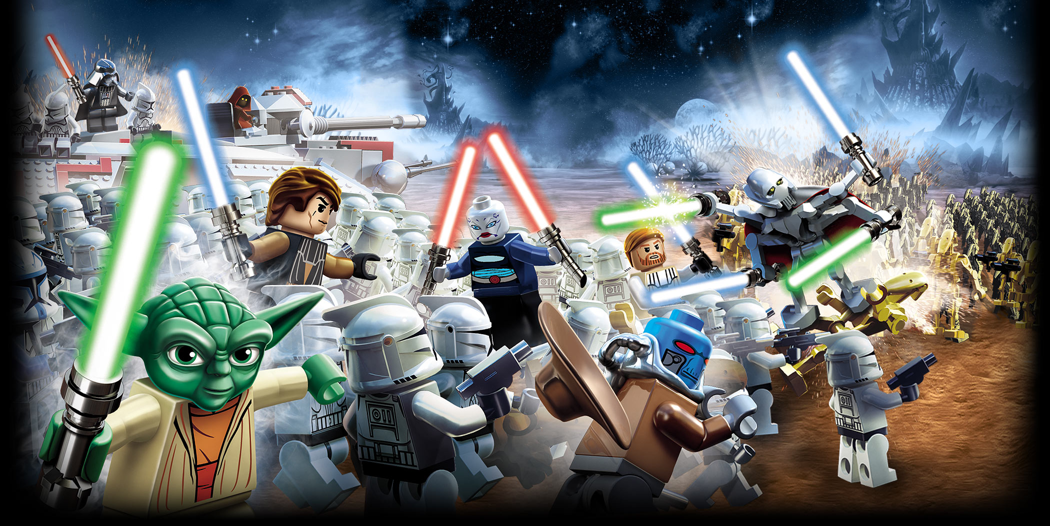 lego star wars iii the clone wars for mac features. Black Bedroom Furniture Sets. Home Design Ideas