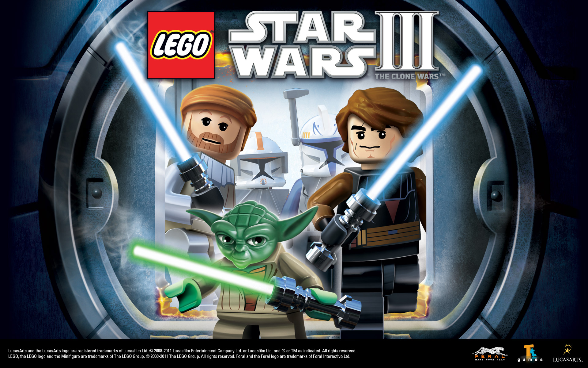 Lego star wars iii the clone wars vehicle info - 1920 X 1200