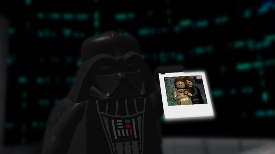 No need to search your feelings, LEGO Luke! I've got photographic evidence!