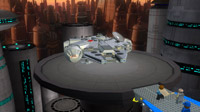 The Millennium Falcon lands at Bespin Cloud City. There's a surprise in store…