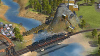 Well-placed track will help you make the most of natural resources, such as coal.