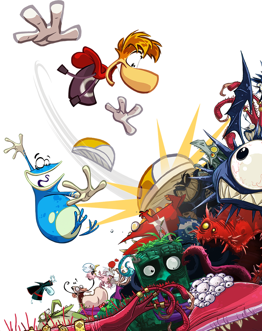 Filme Rayman throughout rayman® origins for mac | feral interactive