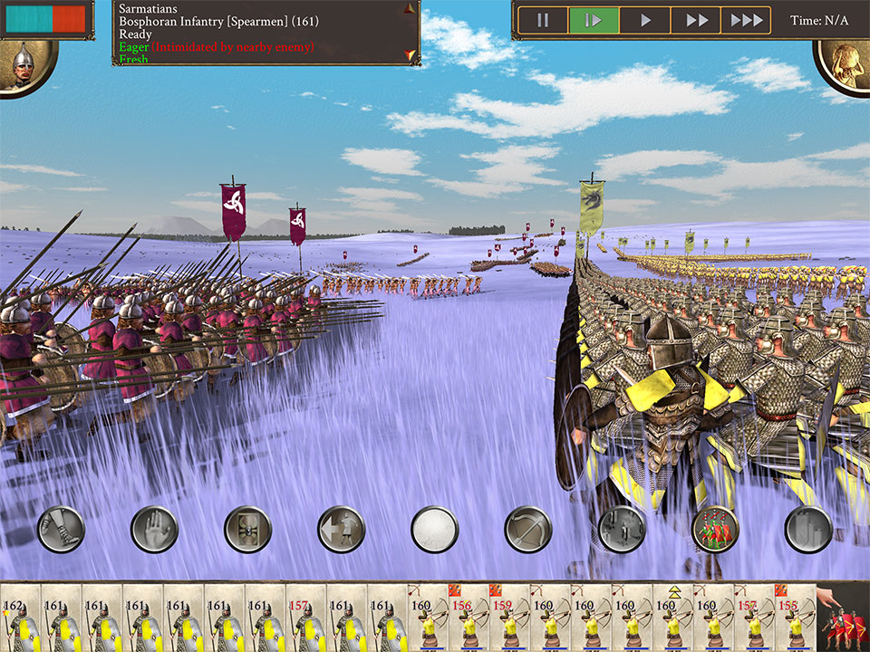 ROME: Total War for mobile - Barbarian Invasion   Feral Interactive