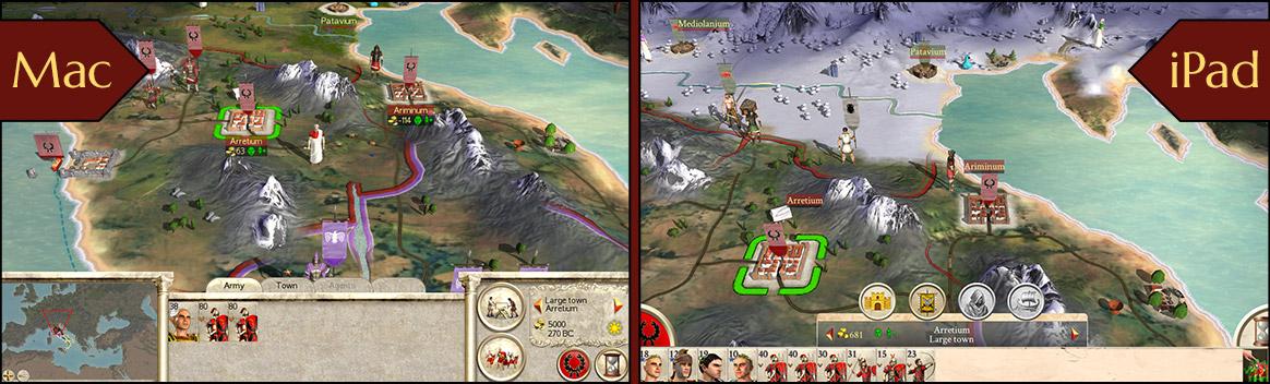 ROME: Total War pour mobile - Construire Rome   Feral