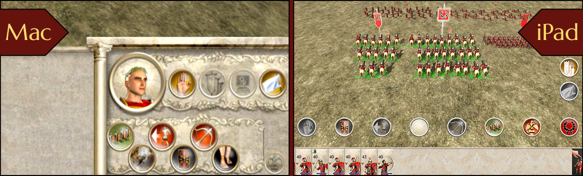 ROME: Total War for mobile - Building Rome   Feral Interactive