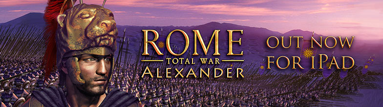 ROME: Total War - Alexander for iPad