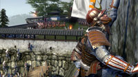 At a besieged fortress, attacking samurai mount a daring attempt to scale the walls.