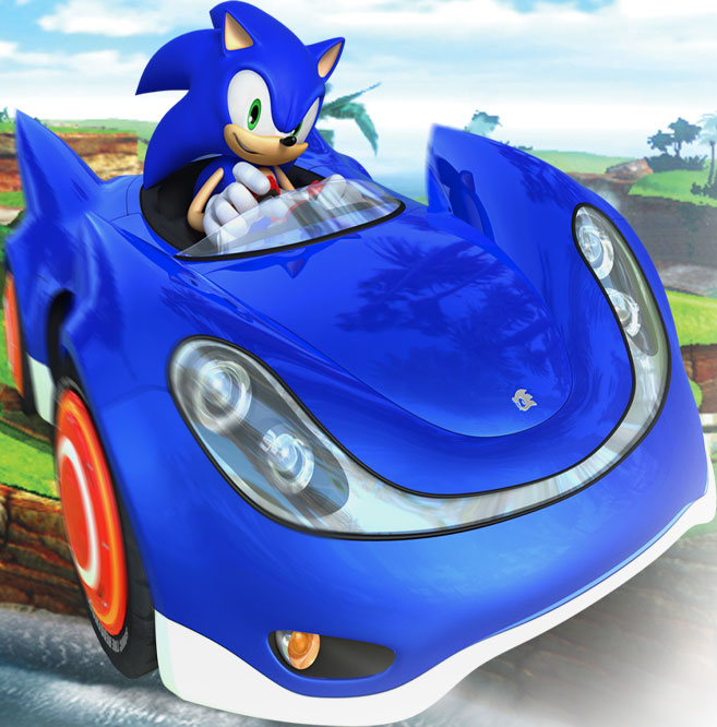 Sonic Amp Sega All Stars Racing For Mac Feral Interactive