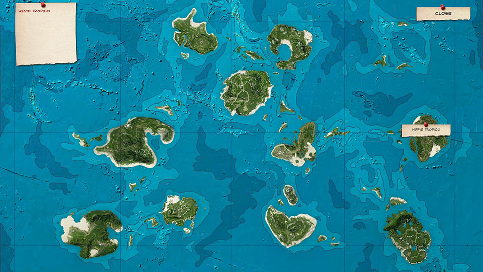 All those unspoiled islands, just waiting to be developed.
