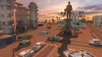 El Presidente and his monuments cast a long shadow over Tropico.