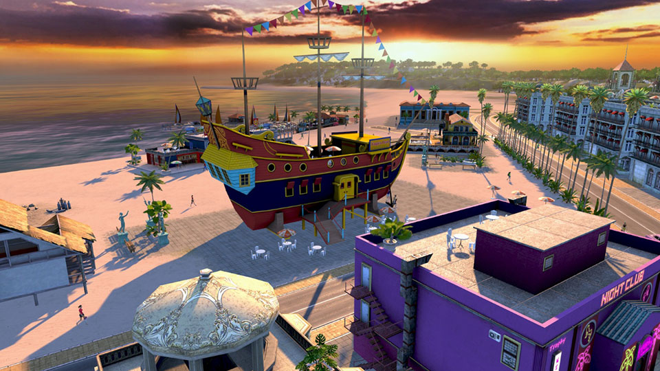 Cash in on Tropico's Caribbean location with a classy pirate-themed restaurant!