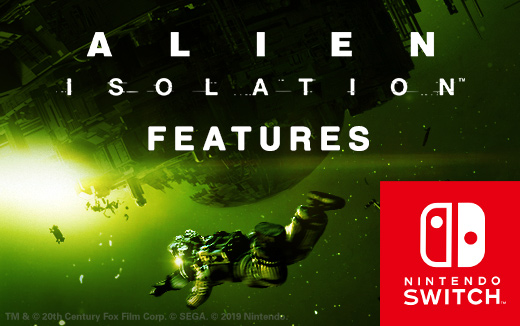 Features roundup — What to expect in Alien: Isolation for Nintendo Switch