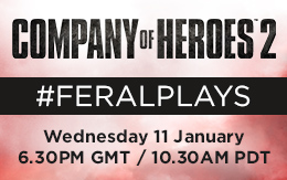 An epic New Year dawns on the Eastern Front: #FeralPlays Company of Heroes 2 multiplayer for Mac and Linux