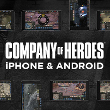 Prise en charge iPhone et Android pour Company of Heroes