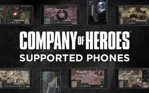 iPhone and Android support for Company of Heroes