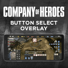 Feature highlight – Button Overlay in Company of Heroes for iPhone and Android