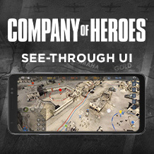 Nueva característica – Ve a través de la interfaz en Company of Heroes para iPhone y Android