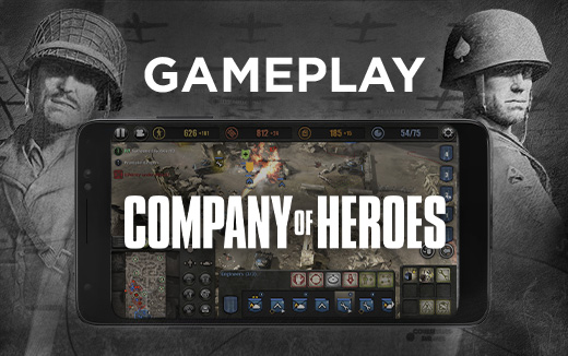 Airdrop — New gameplay video for Company of Heroes on iPhone and Android