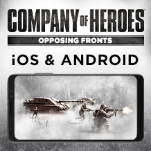 《Company of Heroes: Opposing Fronts》将于 4 月 13 日席卷 iOS 及 Android