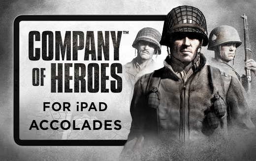 Company of Heroes for iPad decorated with battle honours