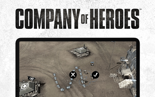 Company of Heroes for iPad — Field Defences