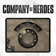 Company of Heroes for iPad — The Command Wheel