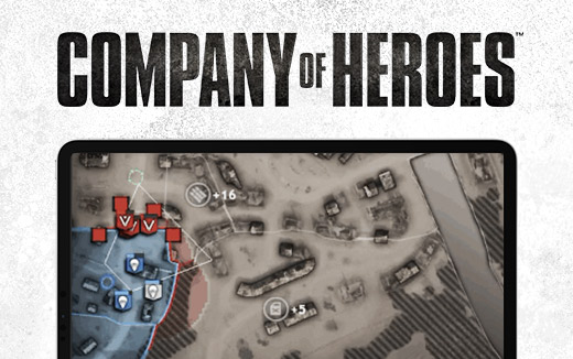 Company of Heroes for iPad — The Tactical Map