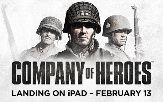 Target spotted — Company of Heroes comes to iPad on 13 February