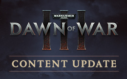 Warhammer 40,000: Dawn of War III for macOS and Linux updated with new multiplayer modes and defenses